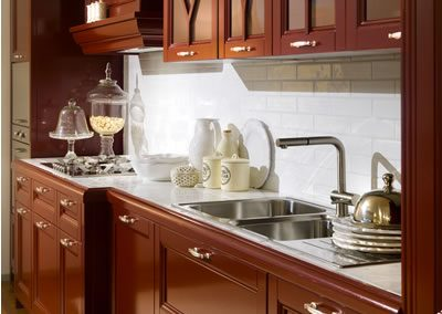 Cucina Ester Aurora Cucine Rossa (4)