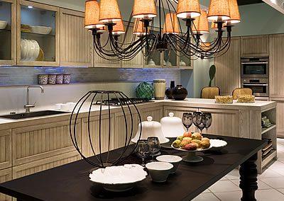 Cucina Vincent Stile Country Chic Grigia Aurora Cucine (1)