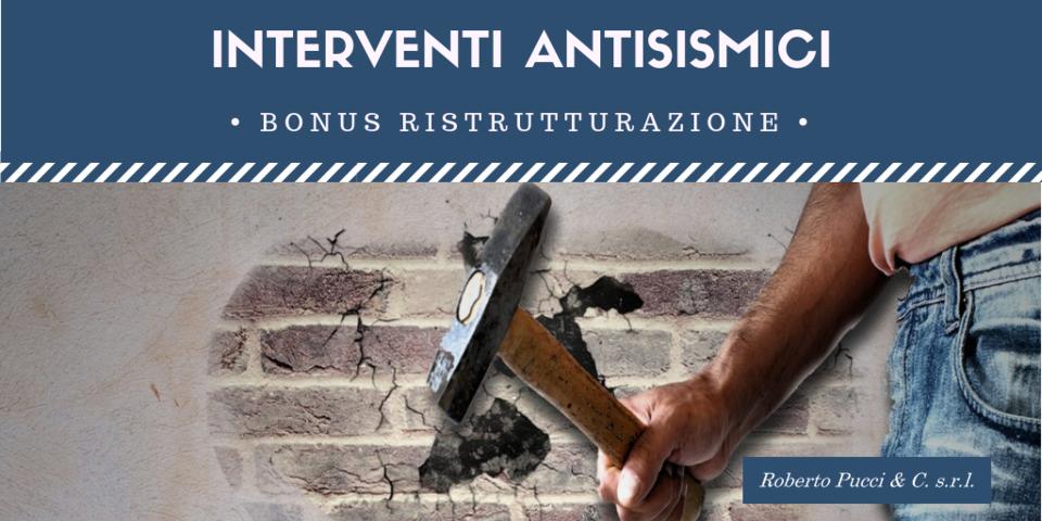 Bonus Interventi antisismici